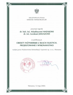 minister-infrastruktury-wyroznienie-viacon-polska-leszek-janusz-ksiazka-2008.jpg